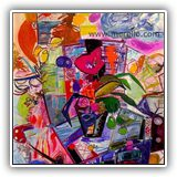 CUADROS-DE-PAISAJES-CONTEMPORANEOS.ARTISTAS.jose-manuel-merello.-florero-del-mar-(146-x-114-cm)--mix-media-on-canvas